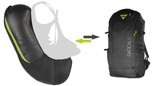 SUPAIR Sac Airbag - Radical 3